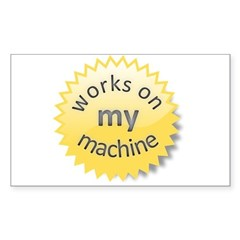 Works on My Machine sticker