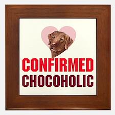 confirmed Chocoholic (choc La Framed Tile
