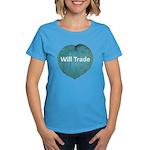Will trade for hostas Women's Dark T-Shirt