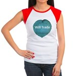 Will trade for hostas Women's Cap Sleeve T-Shirt