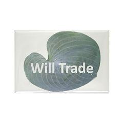 Will trade for hostas Rectangle Magnet (100 pack)