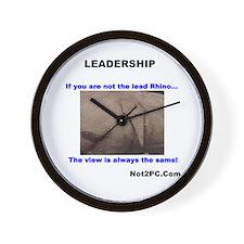 Leadership Wall Clock