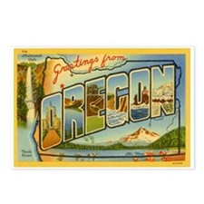 Greetings from Oregon Postcards (Package of 8)