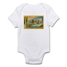 Greetings from Oregon Infant Bodysuit