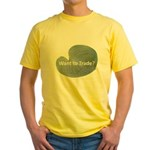 Want to trade hostas? Yellow T-Shirt