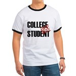 Off Duty College Student Ringer T