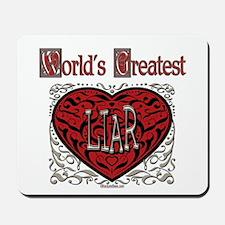World's Best Liar Mousepad