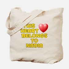 This Heart: Nadia (D) Tote Bag