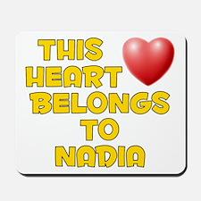 This Heart: Nadia (D) Mousepad
