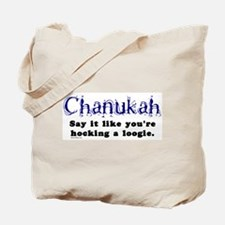 Chanukah Hocking A Loogie Tote Bag