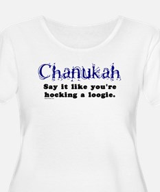 Chanukah Hocking A Loogie T-Shirt