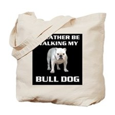 BULL DOG Tote Bag