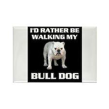 BULL DOG Rectangle Magnet