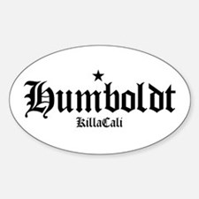 Humboldt Oval Decal
