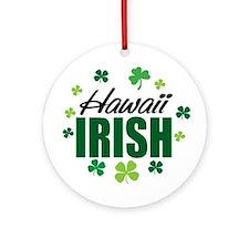 Hawaii irish Ornament (Round)
