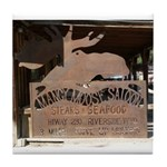 Mangy Moose Tile Coaster