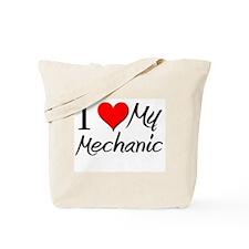 I Heart My Mechanic Tote Bag