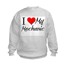I Heart My Mechanic Sweatshirt