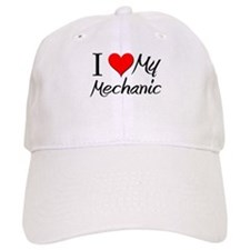 I Heart My Mechanic Baseball Cap