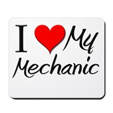 I Heart My Mechanic Mousepad