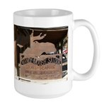 Mangy Moose Large RH Mug