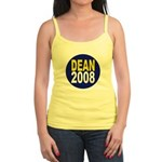 Howard Dean 2008 Jr. Spaghetti Tank Top
