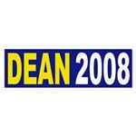 Dean 2008 (bumper sticker)