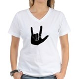 Asl ily Womens V-Neck T-shirts