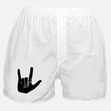 I love you hand Boxer Shorts