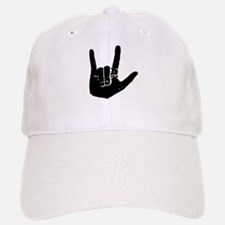 I love you hand Baseball Baseball Cap