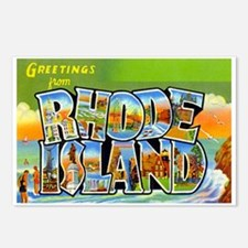 Greetings from Rhode Island Postcards (Package of