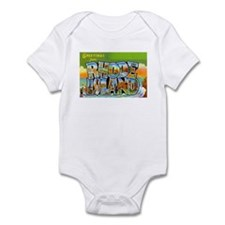 Greetings from Rhode Island Infant Bodysuit