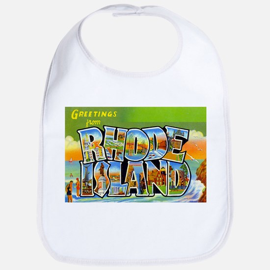 Greetings from Rhode Island Bib