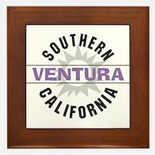 Ventura California Framed Tile