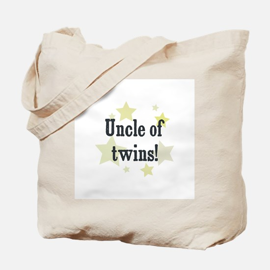 Uncle of twins! Tote Bag