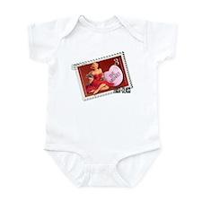 Be Mine! Pin Up Stamp Infant Bodysuit