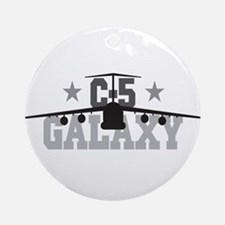 C-5 Galaxy Aviation Ornament (Round)