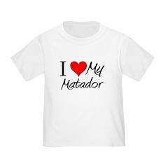I Heart My Matador T