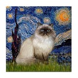 Himalayan cat Drink Coasters