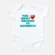 This Heart: Humberto (E) Infant Bodysuit