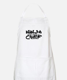 """Ninja cleverly disguised as a Chef"" BBQ Apron"