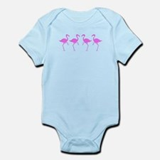 Pink Flamingo Infant Bodysuit