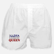 NADIA for queen Boxer Shorts