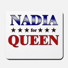NADIA for queen Mousepad