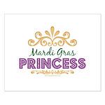 Mardi Gras Princess Small Poster