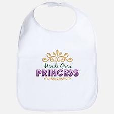 Mardi Gras Princess Bib