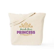 Mardi Gras Princess Tote Bag
