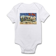 Greetings from Texas Infant Bodysuit