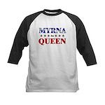 MYRNA for queen Kids Baseball Jersey