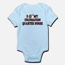 """Foundation Quarter Horse"" Onesie"